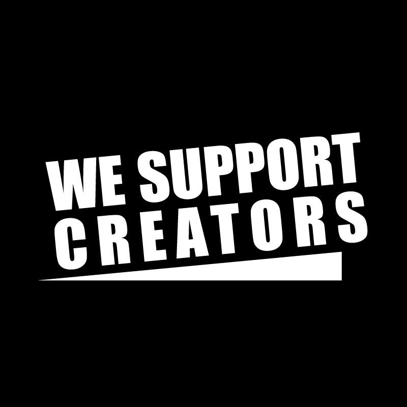 Logo We Support Creators 01